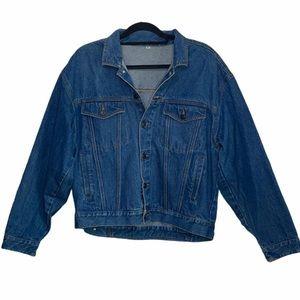 Vintage Hennes Denim Bomber Jean Jacket 90s